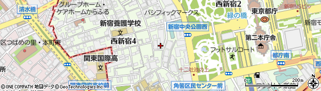 株式会社十二社周辺の地図