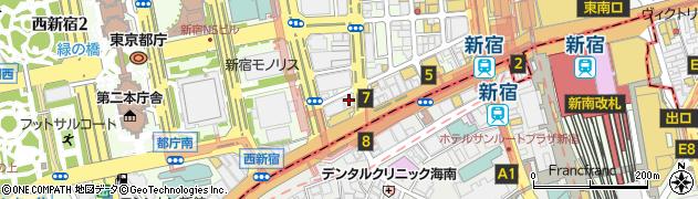 株式会社フラップ・インターナショナル周辺の地図