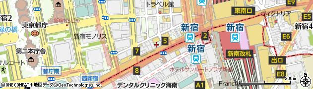 東京都新宿区西新宿1丁目19-4周辺の地図