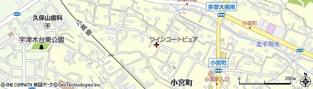 東京都八王子市小宮町周辺の地図