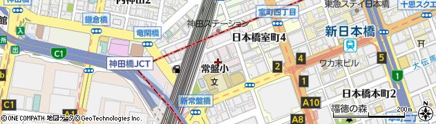 白旗稲荷神社周辺の地図