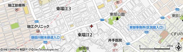 東京都江戸川区東瑞江周辺の地図