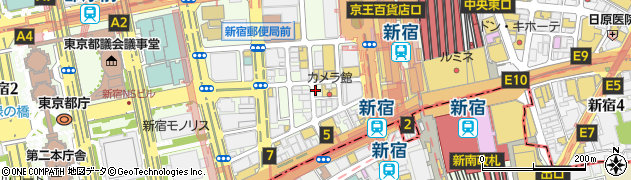 CoCo都可 新宿西口店周辺の地図