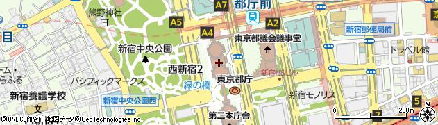 東京都周辺の地図