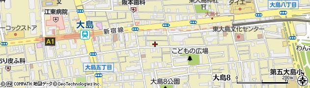 銀しゃり 江東店周辺の地図