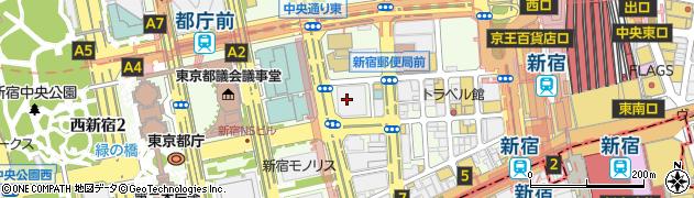 東京都新宿区西新宿1丁目23-7周辺の地図