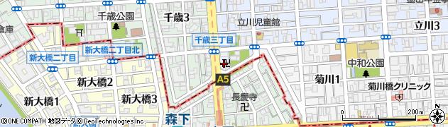 徳上院周辺の地図
