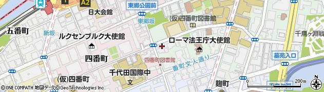 東京都千代田区三番町7-13周辺の地図