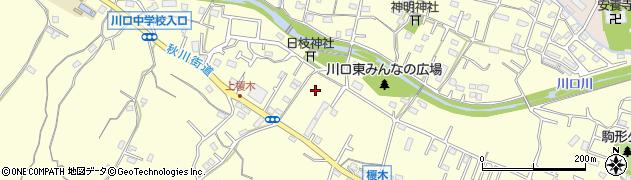東京都八王子市川口町周辺の地図