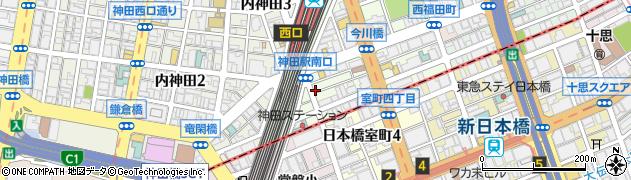 東京都千代田区鍛冶町周辺の地図