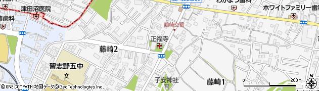 正福寺周辺の地図