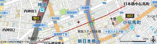 東京都千代田区神田美倉町周辺の地図