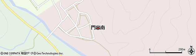 岐阜県関市門出南周辺の地図