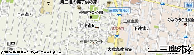 都営上連雀6丁目第3アパート周辺の地図