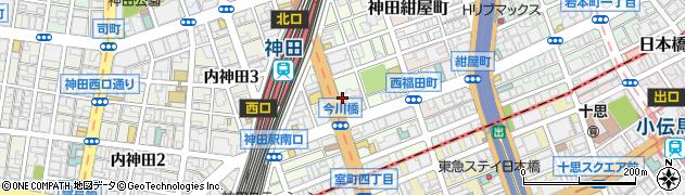 東京都千代田区鍛冶町2丁目3周辺の地図