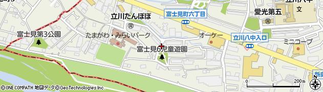 都営富士見町六丁目アパート周辺の地図
