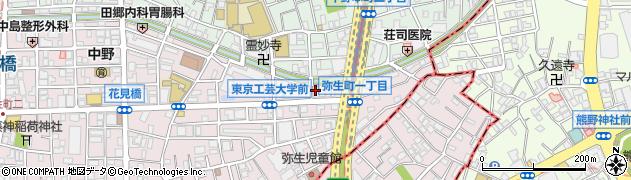 伏見稲荷大社周辺の地図