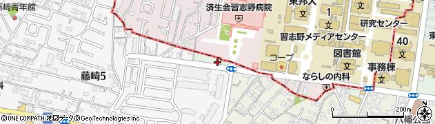 千葉県習志野市泉町周辺の地図