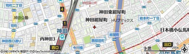 東京都千代田区神田北乗物町12周辺の地図