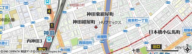 東京都千代田区神田北乗物町6周辺の地図