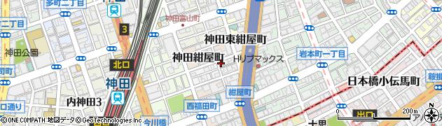 東京都千代田区神田北乗物町5周辺の地図