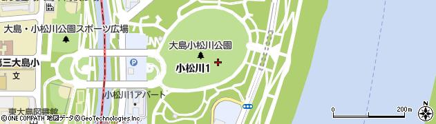 東京都江戸川区小松川周辺の地図