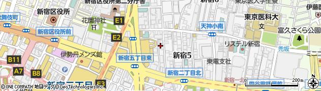 ハイクラウン本店周辺の地図