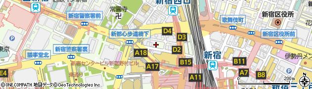 旬菜七福大黒周辺の地図