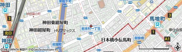 宅配弁当京香神田店周辺の地図
