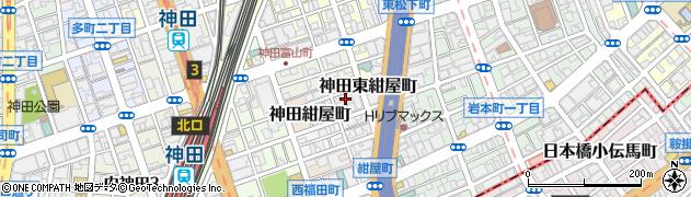 東京都千代田区神田紺屋町周辺の地図