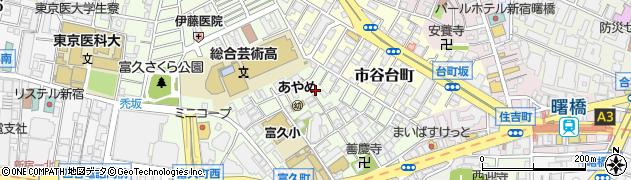 東京都新宿区富久町周辺の地図