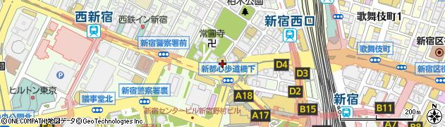 東京都新宿区西新宿7丁目12-1周辺の地図