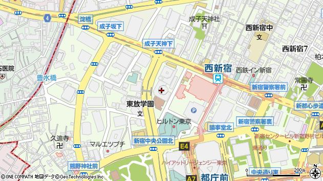 〒163-6007 東京都新宿区西新宿 住友不動産新宿オークタワー(