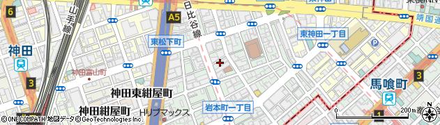 東京都千代田区岩本町周辺の地図
