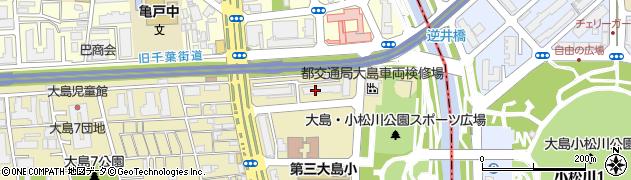 都営大島九丁目アパート周辺の地図
