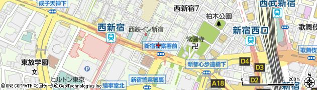株式会社フロンティアエンゲージメント周辺の地図