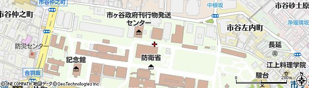 東京都新宿区市谷本村町周辺の地図