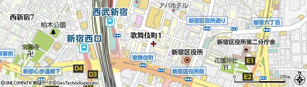 居酒屋酒意中央通り店周辺の地図