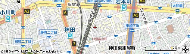東京都千代田区神田東松下町周辺の地図