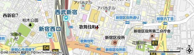 ゴンドラ周辺の地図