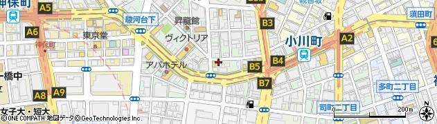 東京都千代田区神田小川町周辺の地図