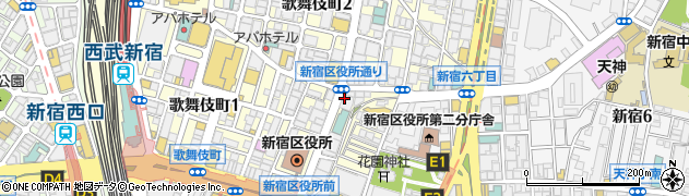 赤限周辺の地図