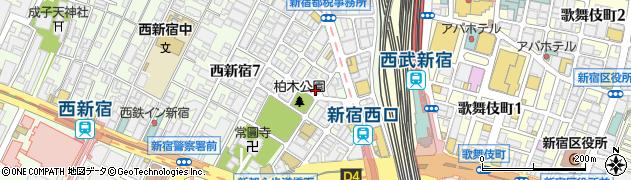 東京都新宿区西新宿7丁目15-1周辺の地図