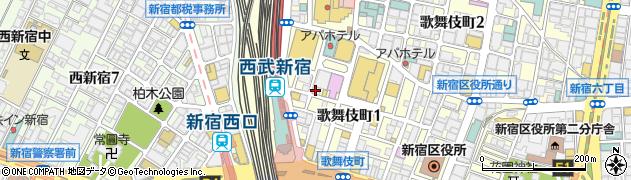 一軒め酒場 歌舞伎町店周辺の地図