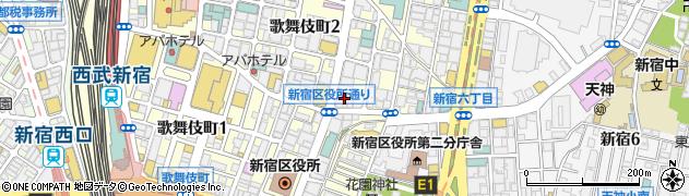鮨すゞき周辺の地図