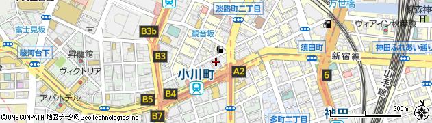 歓粋亭周辺の地図