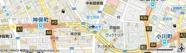 春日亭 神保町店周辺の地図