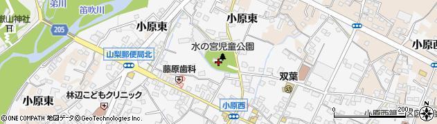 大井俣神社周辺の地図