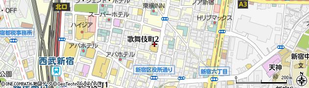 ラウンジあさくら周辺の地図