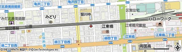 永倉稲荷周辺の地図